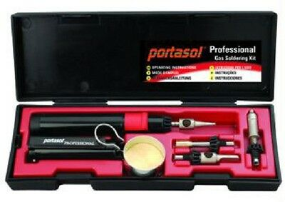 Portasol P-1K Professional Butane Gas Catalytic Soldering Iron Tool Kit