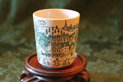 Nymolle  Hoyrup Green Town Ceramic Cup