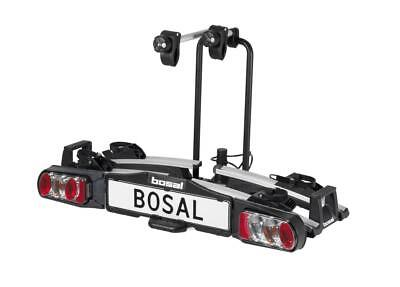 Bosal Compact Premium Folding 2 / Two Bike Cycle Carrier Towbar Mounted