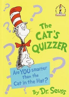 The Cat's Quizzer by Dr. Seuss (1976, Hardcover) NEW