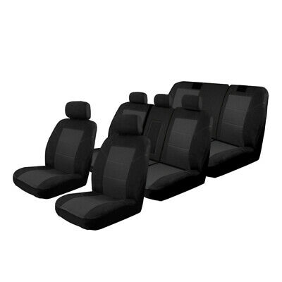 Seat Covers Custom Made Toyota Kluger GSU50R GX / GXL / Grande 03/2014-On 3 Rows