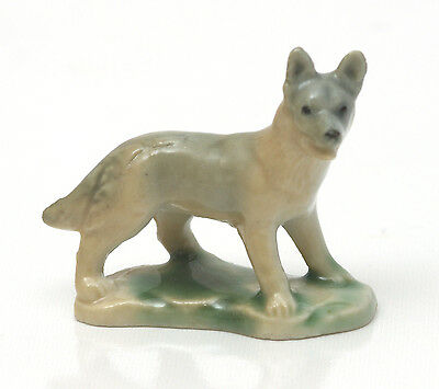 Wade First Whimsies Set Seven Pedigree Dogs, Alsatian 1957-1961