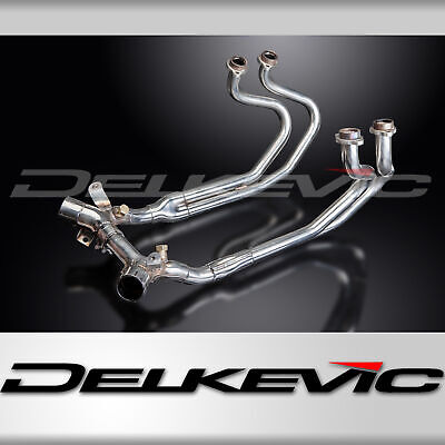 Honda ST1300 Pan European Stainless Exhaust Down Pipes Stainless Steel