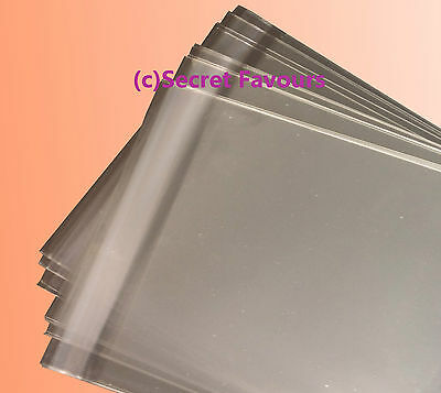 500 - C4 Clear Cello Bags for Greeting Cards & Prints | Cellophane Peel & Seal