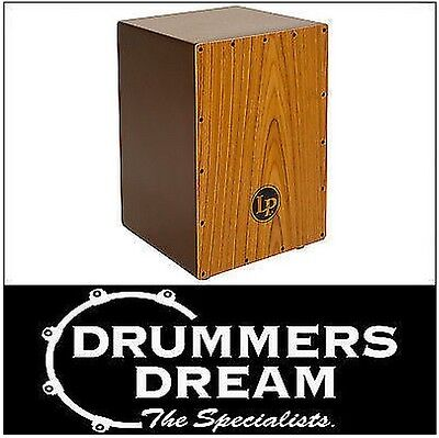 LP Journeyman Fiberglass Cajon With Wood Frontplate LP1435  Drum Rhythm Box NEW