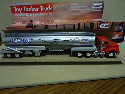 CROWN 1994 TOY TANKER TRUCK 1st IN SERIES LIMITED EDITION