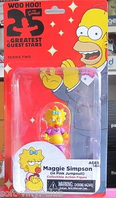 NECA The Simpsons 25th Anniversary Series 2 Maggie Simpson (in Pink Jumsuit)