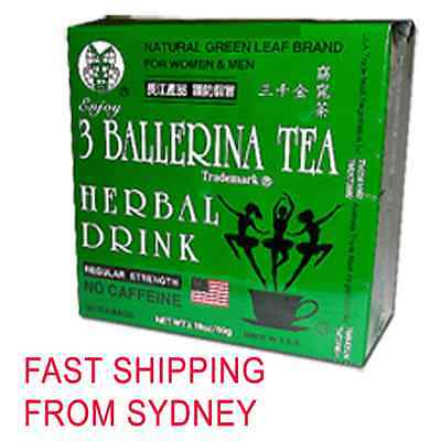 3 Boxes Ballerina Tea Slimming or Weight Loss Tea