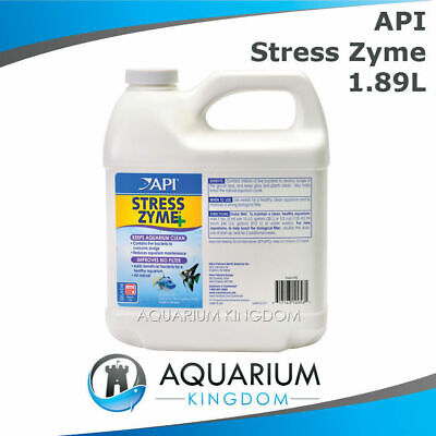 API Stress Zyme 1.89L Adds Good Bacteria, Break Down Fish Waste, Water Changes