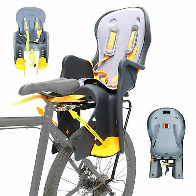 """Velobici Rear Carrier Bike Bicycle Baby Seat Fit all 26"""" 700C & Disc"""