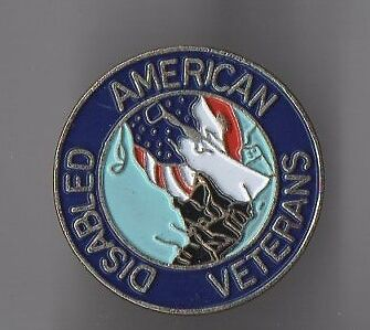 Pin's disabled american veterans