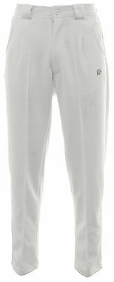 Mens Green Play Professional Sports White Trousers - Bowls, Cricket, Golf