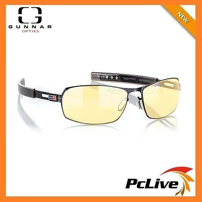 New Gunnar MLG Phantom Amber Onyx Indoor Digital Eyewear Gaming Glasses