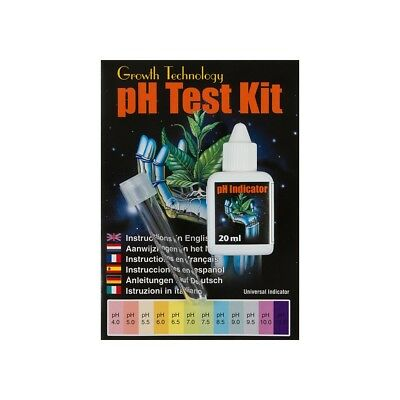 PH Test Kit - Liquid - Hydroponics - Growth Technology