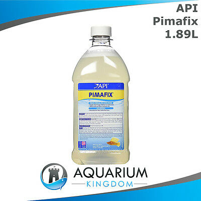 API Pimafix 1.89L Natural Anti-Fungal Medication -Treats Fish Fungus Body & Fins