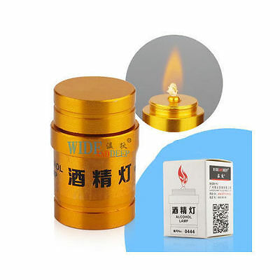 Alcohol Burner Lamp Stainless steel portable Lab Equipment Heating Mini