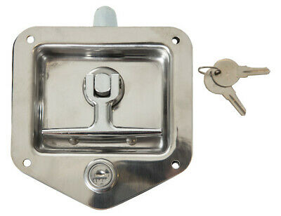 Buyers Products L8815, Single Latch Point Stainless Steel Folding T-Latch