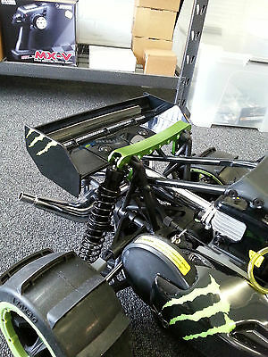 Baja 5B Alloy Rear Shock Support Carry Handle (Green in Colour)