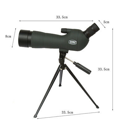 BN Precision Zoom Spotting Scope Telescope 20-60x60 With Tripod
