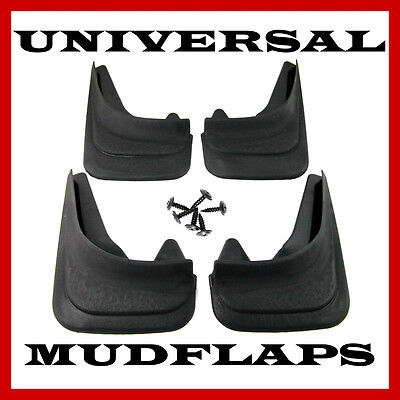 Rubber Moulded Universal Fit Mudflaps Mud Flaps for  DACIA