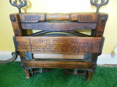 Antique Anchor Brand No.770 Clothes Wringer Patent MAY 5,1896 STAMPED 6/201899