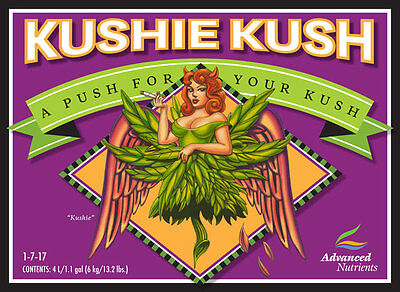 Advanced Nutrients Kushie Kush 250ml- bloom booster yield increase additive