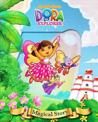 Dora The Explorer Lenticular Magical Hardback Story Book - Ages 3 Years +