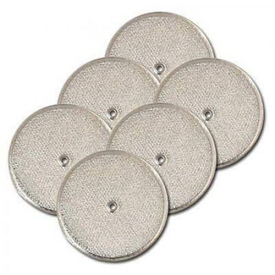 """(6-PK) 9-1/2"""" Round Range Hood With Grommet Hole Mesh Grease Filter 8501G By AFF"""