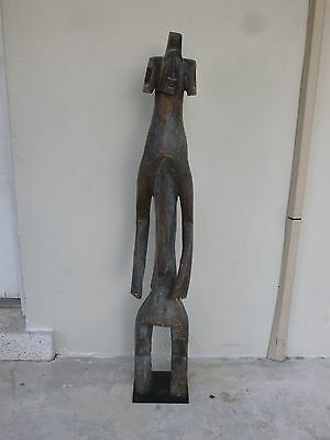 Late19Th C / Early 20Thc African Art Mumuye Figure Ex Herstand Collection
