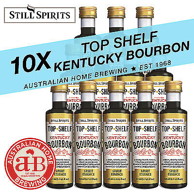 10 Still Spirits Top Shelf Kentucky Bourbon Essence homebrew spirit making