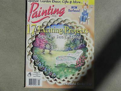 NEW  Painting Magazine back issue April 2002 Diane Trierweller *1736*
