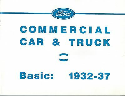 Ford Commercial Car & Truck - Basic 1932-1937