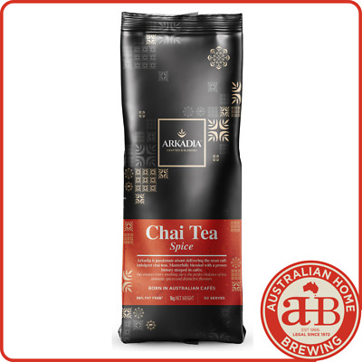 Arkadia Chai latte Spice chai powder 1KG Spice Chai cafe beverage tea latte