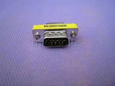 VGA SVGA Male to VGA Female 15pin M/F Gender Changer Adapter Connector