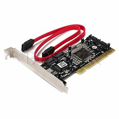 4 Port SATA to PCI Sil3114 Controller Raid Card
