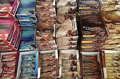Quest Nutrition, 18 Mixed Protein Bars, Pick & choose Flavour / quantity
