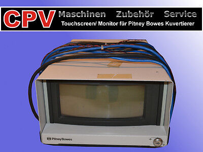 Touchscreen/ Monitor Pitney Bowes Kuvertiermaschine/ -automat 8300 83er Serie