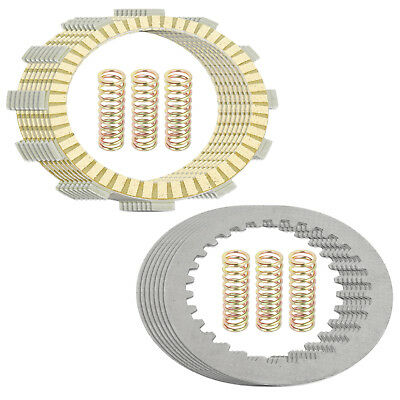CLUTCH FRICTION STEEL PLATES and SPRINGS KIT Fits YAMAHA YZ250 2002-2018