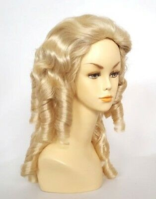 Southern Belle Civil War Gone With The Wind Scarlett Costume Wig Shirley Temple