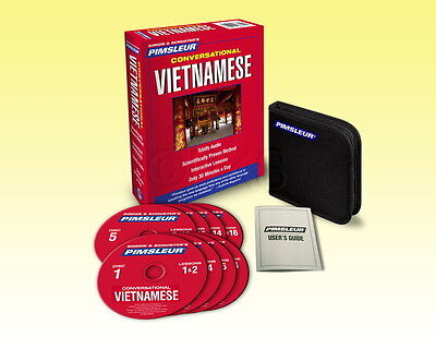 New 8 Cd Pimsleur Learn To Speak Vietnamese Language 16 Lessons