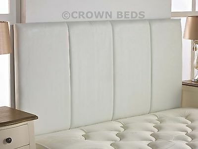 QUALITY FAUX LEATHER SANDRINGHAM HEADBOARD IN 2ft6,3ft,4ft,4ft6,5ft,6ft NEW!!!!!
