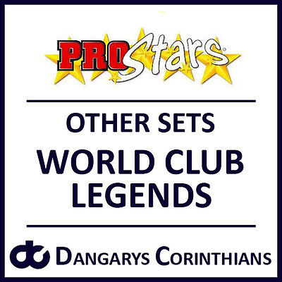 Corinthian Prostars Other Sets: WORLD CLUB LEGENDS (WCL) Blisters