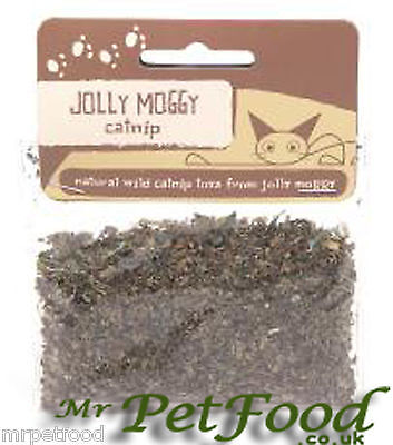 Jolly moggy cat nip 10g used to reprime cat nip toys  use in cat and kitten toys
