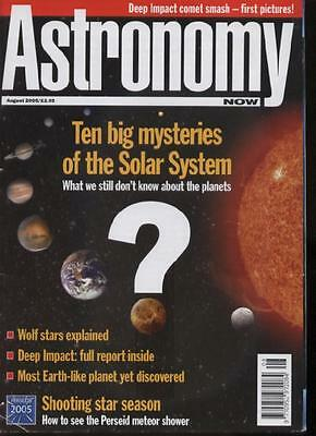 ASTRONOMY NOW MAGAZINE - August 2005