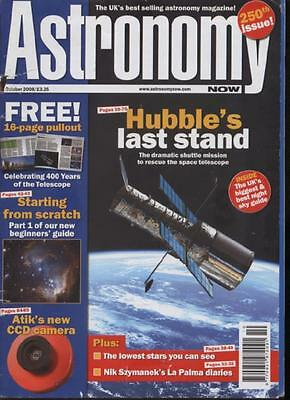 ASTRONOMY NOW MAGAZINE - October 2008
