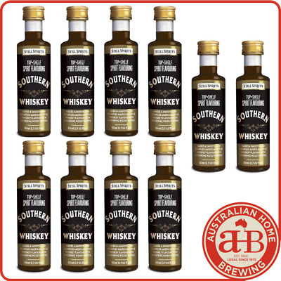 10x Still Spirits Top Shelf Tennessee Whiskey (Southern Whiskey) Bourbon essence