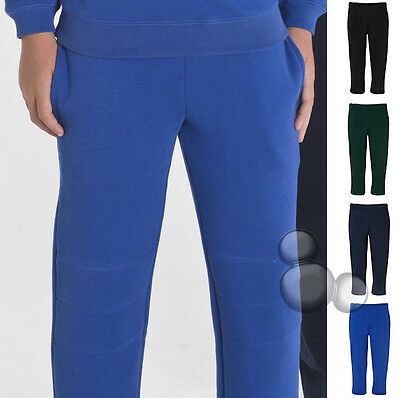 Kids Track Pants Size 4 6 8 10 12 14 Double Knee Trackies Sports Suit School