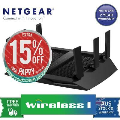 Brand New Netgear R8000 Nighthawk X6 AC3200 Tri-band Gigabit Wireless Router