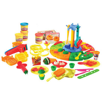 Deluxe Food Set with PLAY DOH Brand Modeling Compound