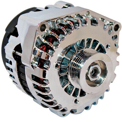 HIGH 250AMP CHROME ALTERNATOR Fits CHEVY CADILLAC BUICK ISUZU SAAB HUMMER